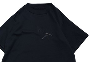 """KK"" T-Shirt BLACK -kudos-"