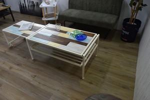Shabby Chic Stretch Table / シャビーシックスタイル シャビーシック 伸縮テーブル