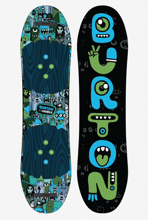 Burton バートン Boys' Chopper Flat Top Snowboard