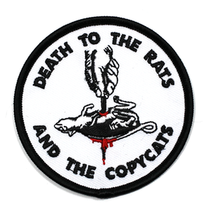 """BALL&CHAIN""""RATS PATCH"""""""