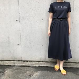 Aima+saie/ロゴマキシワンピース