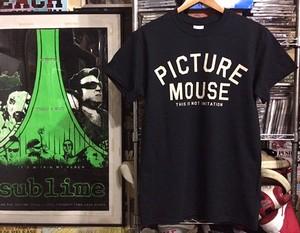PICTURE MOUSE Tsh / BLACK