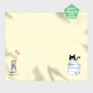 【HappyUnbirthday!カップサーバー】マイクロファイバークロス