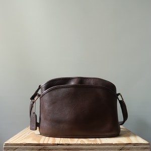 Old coach leathers shoulder bag / Brown