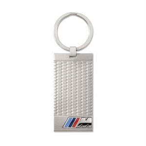 BMW純正部品 Mステンレススチールペンダントキーリングキーリング – シルバー