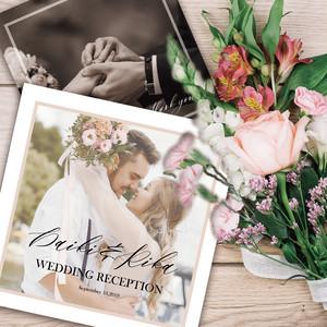 S_PB01【サンプル】結婚式プロフィールブック