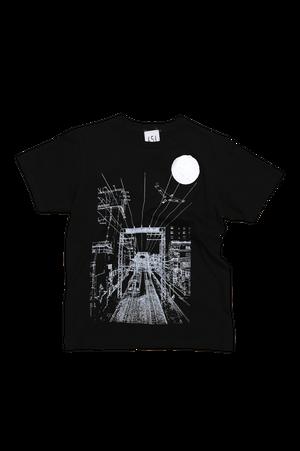 NO.651 鶴間駅前陸橋からのTシャツ【神奈川】【XSサイズ】