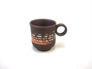 【常滑焼】マグカップ(小)/秋二紋柄