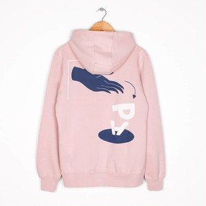 by Parra - hooded sweater discarded (Stonewashed Pink)