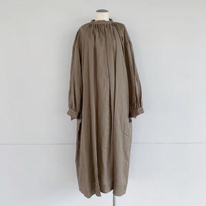 【COSMIC WONDER】Beautiful light linen ritual long dress/11CW17213