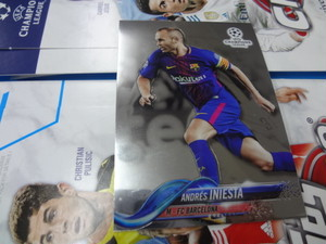 イニエスタ 2017 TOPPS CHROME UEFA CHAMPIONS LEAGUE