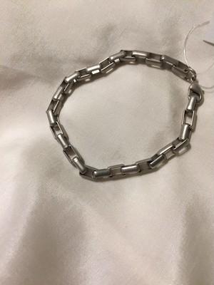 【調整可能】Silver chain bracelet ( シルバー チェーン ブレスレット )