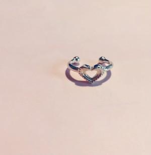 Heart dot phalange RING #0126-sv
