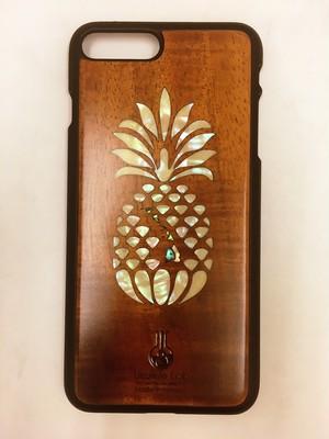 【淵脇様専用】 アイフォンケース パイナップル シェル iPhone8Plus ウクレレ・ラボ