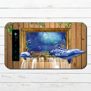 #000-012 モバイルバッテリー dolphin 《海 イルカ ドルフィン》 動物系 かわいい系 iphone  スマホ 充電器