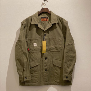 COVERALL <BACK SATIN> (ARMY GREEN) / GERUGA