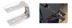 DV線専用 壁面引込金具 (溶融亜鉛メッキ仕上)