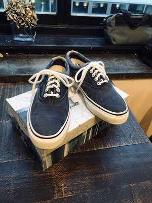 """DEAD STOCK   """"00'S US NAVY SUB MARINE DECK SHOE by TOP-SIDER"""""""