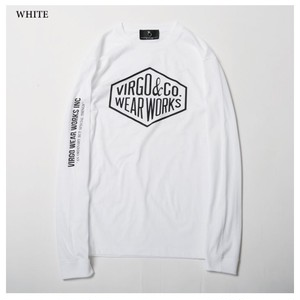 VIRGO Diamond logo L/S / ヴァルゴ 長袖Tシャツ / WHITE / VG-LSPT-51