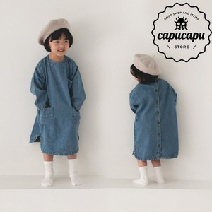 [sold out] Denim one-piece 2Colors デニムワンピース