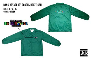 BANG VOYAGE 19' COACH JACKET GRN