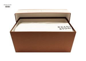 BRAMA STORI-RIN-クルーネックスウェットシャツ(ホワイト/メンズ)