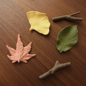 葉枝置き -はしおき-(カラー) 瀬戸焼