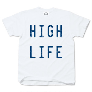 HIGH LIFE whitexblue