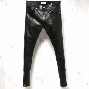 Leather pants riri zip custom w33