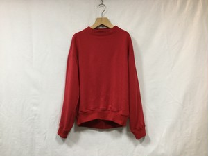 "MY__ "" BOTTLE NECK SWEAT "" RED"