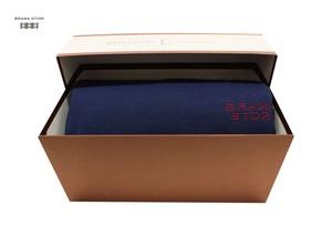 BRAMA STORI-RIN-クルーネックスウェットシャツ(ブルー/メンズ)