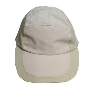 RAJABROOKE ASIA / NYLON CHAMBRAY CAP -BEIGE-