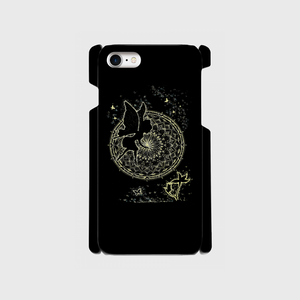 iPhone7スマホケース点描画 妖精1