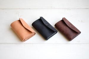 三ツ折り革財布 / Maika