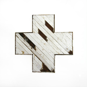 "Reclaimed Icon "" Nashville Cross"""