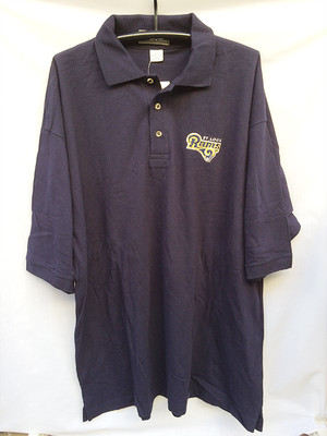 ST. LOUIS RAMS NFL セントルイス ラムズ ポロシャツ半袖 半袖ポロシャツ POLO-SHIRTS 2XL XXL 995