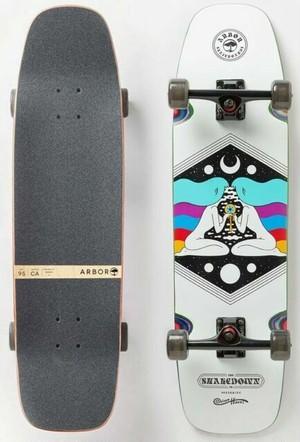 【Arbor Skateboard】Shake Down 34 ロンスケコンプリート