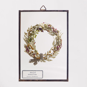 Botanical Frame S035 - Gold