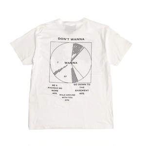 ILL IT - WANNA TEE (WHITE) -