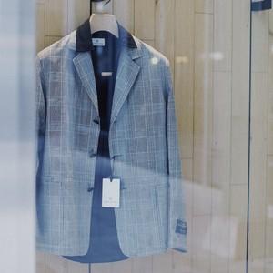 COLONY CLOTHING / PORT CITY JACKET GLEN CHECK VBC / CC21-JK02-01