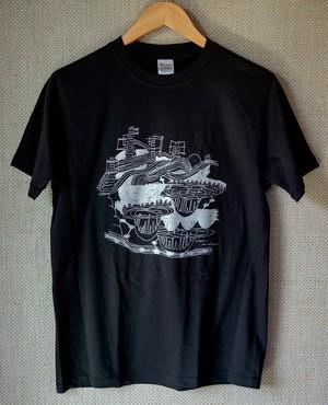Satomimagae 『運河 Tシャツ』