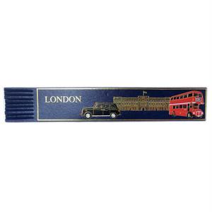 革製ブックマーク LONDON【ブルー】R.C.Brady 90171-BLUE
