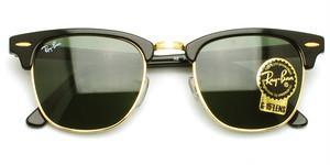 RB3016  W0365 (Black/Gold)  - CLUB MASTER -  / RayBan