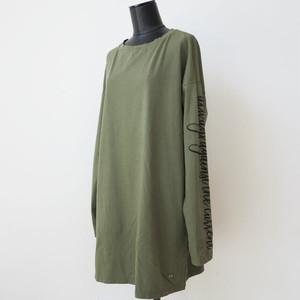 PLEASE ロゴスリーブビッグTシャツ:PLE-248 ¥9,800+tax