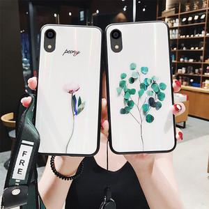 【小物】Iphone強化ガラス超薄型カップルの電話ケース