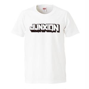 【再入荷】JUNXION SHORT SLEEVE TEE WHITE