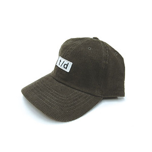 THURSDAY - t/d CORDUROY CAP (Dark Brown)