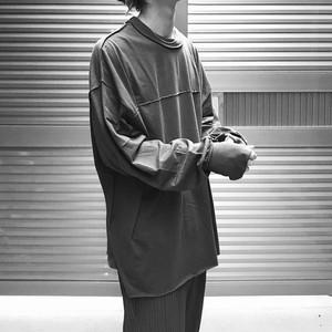 【UNISEX - 1 size】SWITCHING LONGSLEEVE / Grey