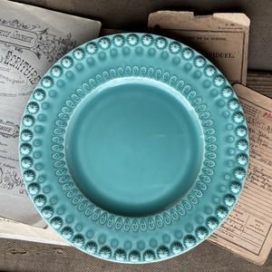 Desset Plate22【Aqua green】/BORDALLO PINHEIRO