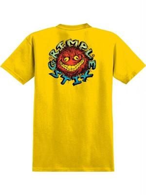 AntiHero Grimple Stix TShirt  Yellow M Tシャツ